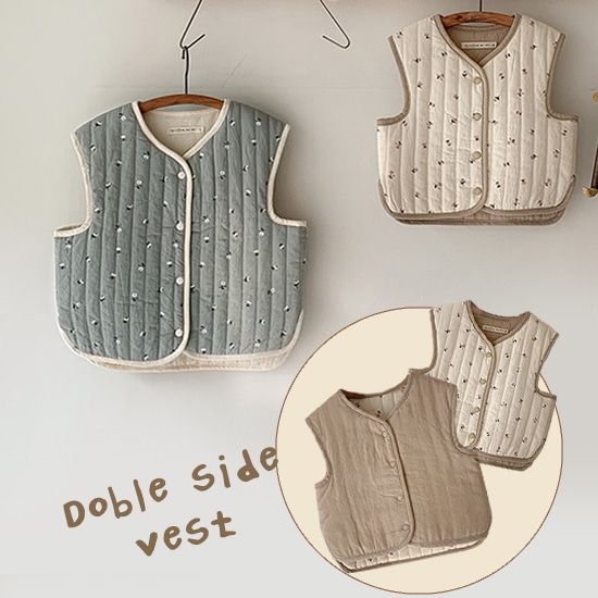 Noeul Quilting Vest (노을 퀼팅 조끼)